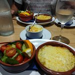Crab Thermidor & Dauphinoise potatoes