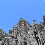 Typical rock formations in Chiricahua National Monument
