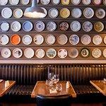 Inside Brasserie Sixty6