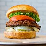 Veggie Burger - Voted 1st Place: Best Veggie Burger 2014 - Best Memphis Burger Fest