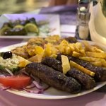 Kabab plate, best dish ever