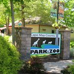Entrance to the Cape May Zoo