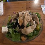 small house salad with grilled chicken