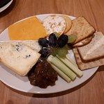 3 Cheese board