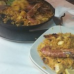 Wonderful paella