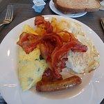 My Pregame Breakfast (to prepare for the tailgater)