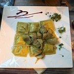 Ravioli with artichoke