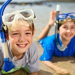 Discover the calm swimming spots for the kids