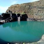 Blue lagoon abereiddy照片