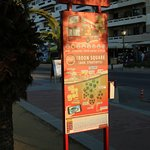Un arrêt de bus
