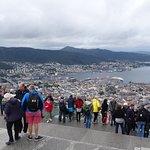 Photo of Mount Floyen and the Funicular (Floibanen)