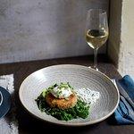 Salmon & smoked haddock fishcake
