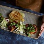 Pan-seared organic tofu with Asian spiced marinade