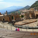 theatre with view of Mt Etna