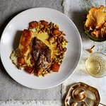 Slow-roast pheasant breast