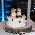 Our delicious wedding cake <3
