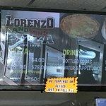 Lorenzo & Sons Menu