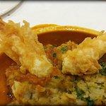 Actual tempura from somewhere else
