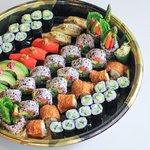 Takeout Vegetarian Sushi Platter