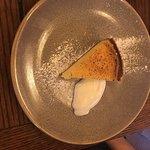 Zesty lemon tart with Normandy soured cream