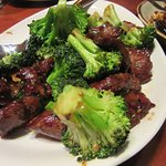 Beef with broccolii