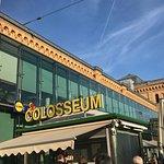 Das Eiscafe ist im Hauptbahnhof untergebracht