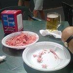 Camarones (shrimps).