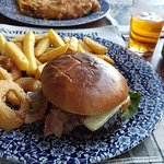 Tasty burger, my second in the past week ;-) Fish and chips great also!
