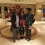 Pickup from Lima Swiss hotel staring a multy-day tour with Raymond & Kieu