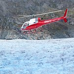 Join TEMSCO Helicopters Juneau base for flights to the Mendenhall Glacier