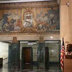 A nice painting in the Buffalo City Hall