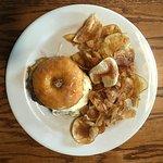 Doughnut Burger & Chips