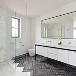 1 of 3 spacious bathrooms in the Luxury Exclusive Penthouse