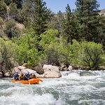 Catch some rapids on the Kern River!