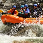 Rafting the Kern River.