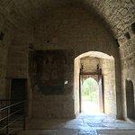 The empty castle inside.
