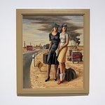 The Blanton Museum - Old Field Girls -1940