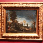 The Blanton Museum - Landscape with Tobias & The Angel - 1616