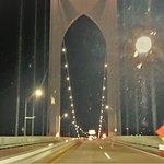 Uma ponte suspensa bem interessante.