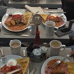 Selection off breakfasts