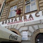 Olomouc, República Checa, Restaurant U Cerveneho Volka.