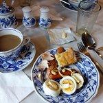 Breakfast at Pension Barbakan