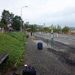 Cesky Krumlov AN Bus Station under construction