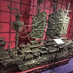 This ship is made entirely out of jade.