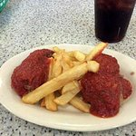 Meatballs and French Fries