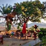 hotel garden dining