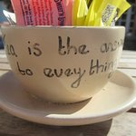 """""""Tea is the answer to everything"""""""