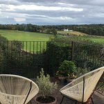 View from the patio at Castlecroft
