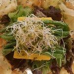 Veggie burguer menú