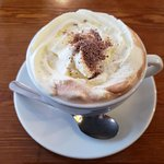 Delicious hot chocolate!